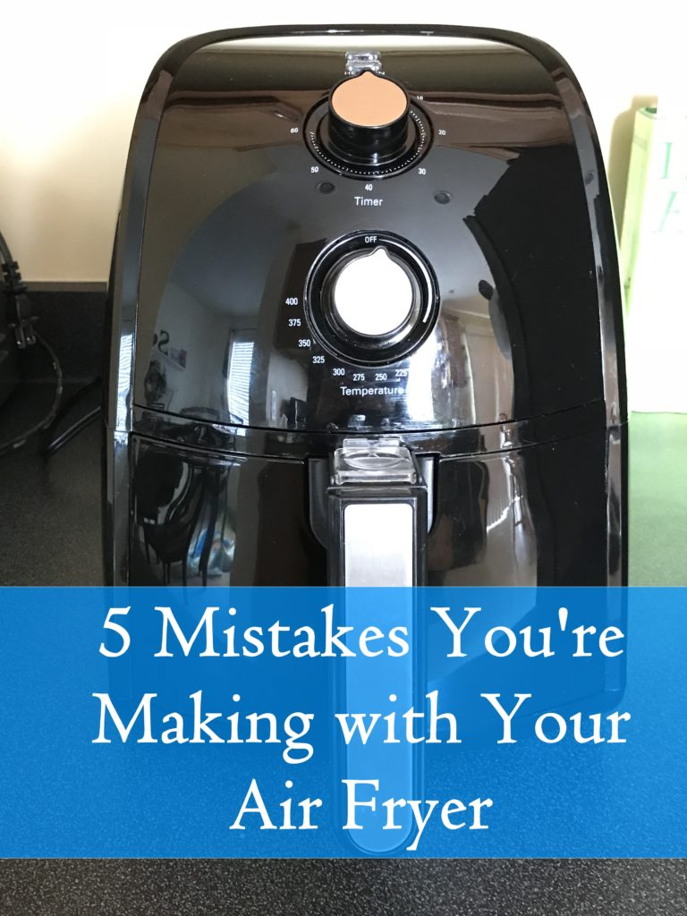Don't make these simple mistakes when using your air fryer. Learn how to use one the right way and enjoy this appliance to its full potential. #cooking #airfryer #airfryerrecipes #cookingtips #foodblogger
