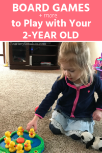 The Best Toddler Games for 2 Year Olds with Board Games