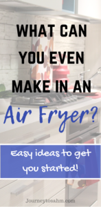 Have an air fryer and have no idea what to cook? Here are easy recipes to cook in your air fryer! Includes the best air fryer cookbooks on the market to use your appliance to its full potential. Learn how to use it for baking, desserts, side dishes, main entrees, family dinners, and more. Helathy cooking couldn't be easier! #airfryer #cooking #healthycooking #recipes #cookbook # delicious #family