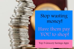 A simple list of grocery savings apps, so you can save money on products you're already purchasing. I've earned more than $856 using these apps and you can too! #save #savemoney #shopping
