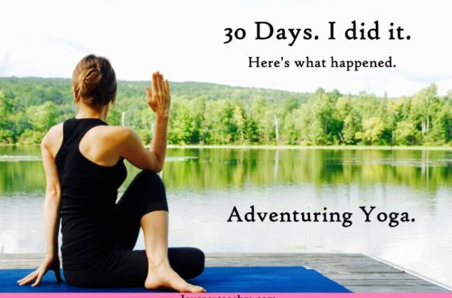 I tried Yoga for 30 days. Find out what happened. #yoga #exercise #adventure