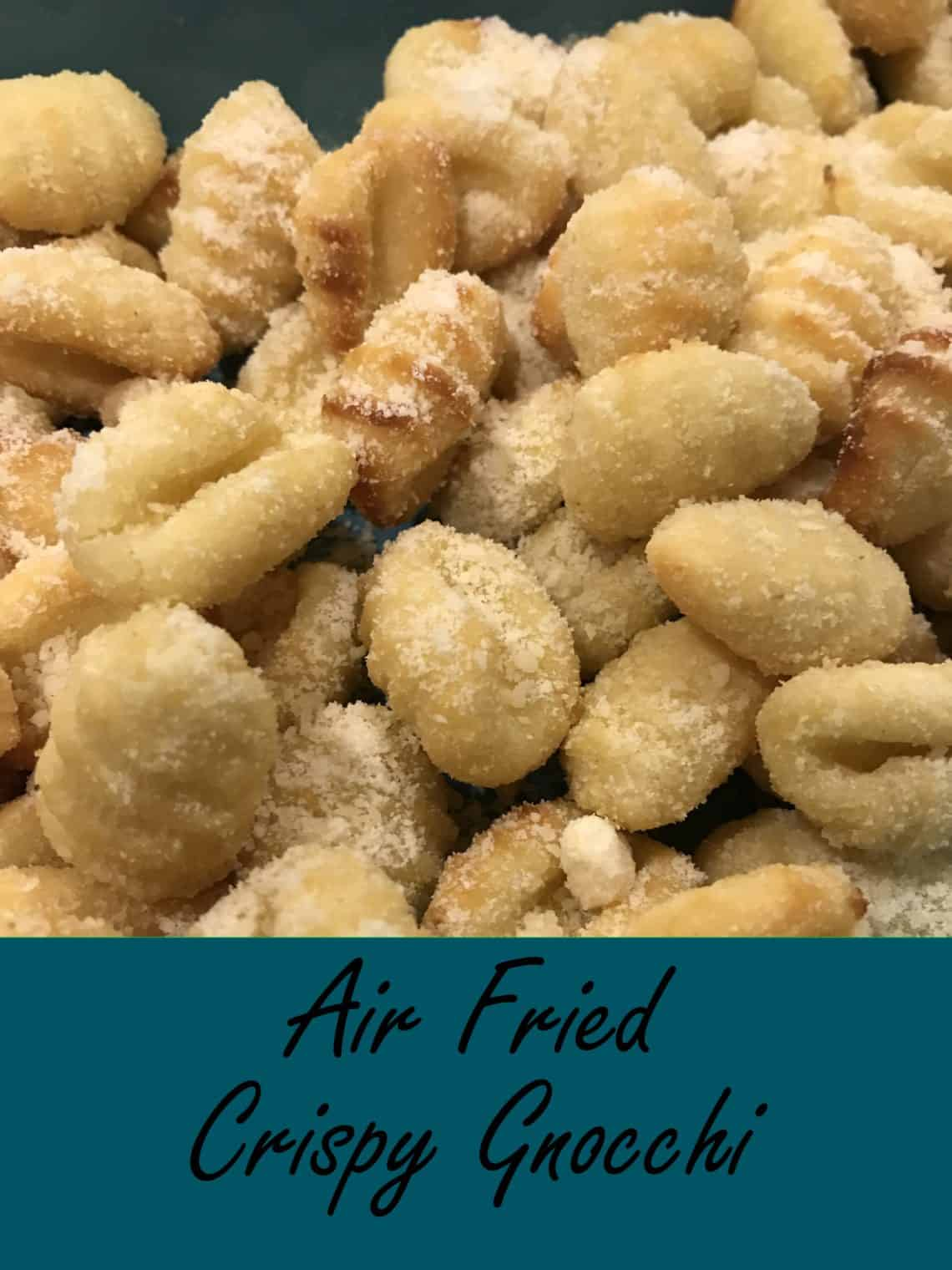 Gnocchi is fried without the oil to create a delicious crisp texture. Serve along with marinara to make a mouth watering modern Italian dish. #food #delicious #yummy
