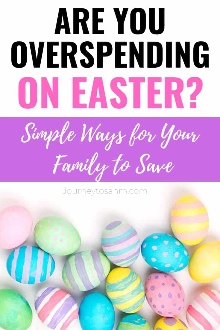 Simple ways to budget for a frugal Easter and still have fun! Tips include how to shop at the Dollar Tree, save money on candy through coupons, and so much more. Make Easter amazing for your family even on a tight budget. #easter #frugaltips #thriftyliving #easterideas #budgetingtips