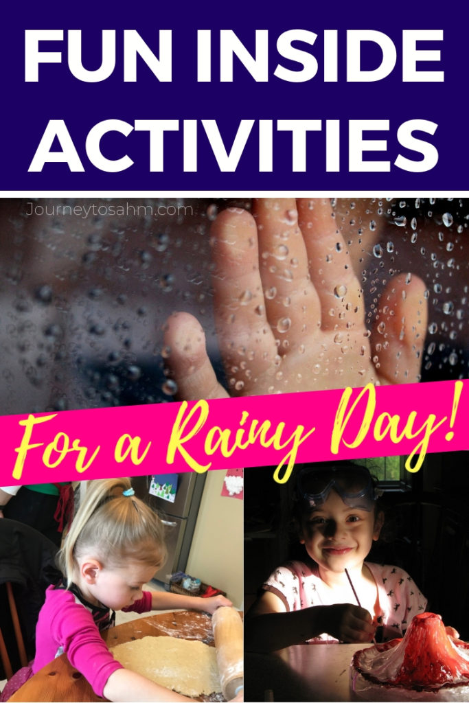 Easy Spring Break Ideas For A Rainy Day At Home With Kids And Toddlers