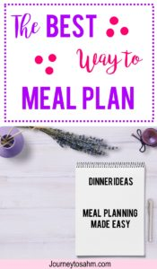 Meal Planning on a budget. An easy way to save money on groceries. Includes a meal planning printable! #mealplan #momlife #savemoney