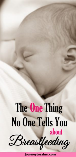 The One Thing No One Tells You About Breastfeeding