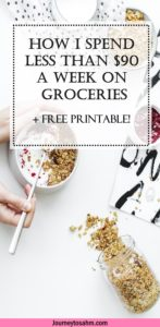 Meal planning can seem scary since it isn't as easy as throwing together 7 different dishes and shopping. This can actually increase your grocery bill. You want to place together a weekly meal plan where you can save and lower your grocery bill to succeed. Learn how now. Free printables available.