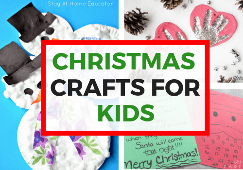 Easy Christmas Crafts For Kids and Toddlers
