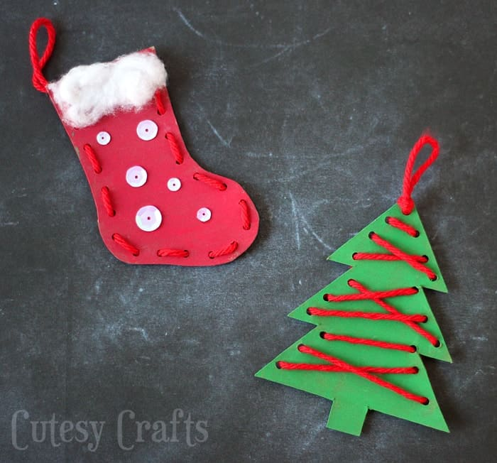 Easy Christmas Crafts For Kids And Toddlers Journey To Sahm