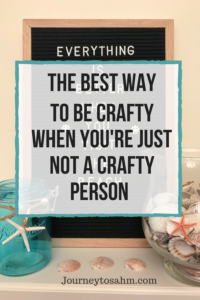 The best way to be crafty when you're just not a crafty person. Crafty home decor made easy with this felt letterboard. Make inspirational quotes, celebrate holidays, occassions, family, and more. Perfect crafty idea for the home and home decor DIY. #sponsored #homedecor #momlife #crafty #seasonal #frugalliving #frugal #awesome #indigofern