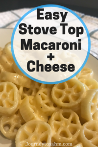 The best homemade creamy stove top macaroni and cheese recipe. Perfect dish for family dinners, holiday dinners, and toddler food approved! #recipe #family #dinner | easy dinner recipes for family | quick and easy dinner recipes | delicious dinner recipes | recipes for dinner