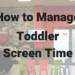 Did you know the AAP guidelines have changed? Find out how much your toddler should be watching TV. It's no longer the impossible 0 hours. Learn about toddler screen time and make a schedule that fits your family dynamic. Screen time for toddlers have never been so easy to understand. #toddlers #momlife #parenting #mom #toddlerlife