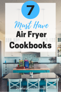 7 Must Have Air Fryer Cookbooks. A collection of the best air fryer cookbooks perfect for everyone. Each cookbook includes air fryer recipes, including vegetarian air fryer recipes, vegan air fryer recipes, and air fryer chicken recipes. #recipes #food #delicious #yummy #healthyrecipes #cooking