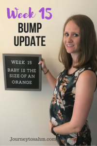 Bump pictures for week 15! This is the first week I couldn't keep up with my prenatal workout. Find out why and what I am doing to get back on track. Weekly bump progression pictures throughout pregnancy. See my pregnancy belly week to week and follow me through my pregnant belly journey to be a new mom again! #parenting #pregnancy #moms #momlife #momtobe