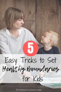 Learn to set healthy boundaries with kids with these parenting tips. Ways to develop listening skills with your child the easy way. Includes free listening activities for kids and listening resources. #parenting #momlife #parentingtips #parenthood