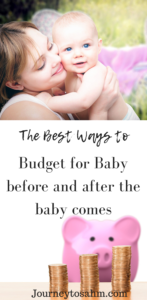 He a baby on a budget during pregnancy and in the newborn phase. Includes 8 easy tricks to save money while pregnant and keep on budget. Newborn budget tips and pregnancy budget tips that are best for you and your family. #parenting #family #momtobe #expecting #pregnancy #pregnant #momlife