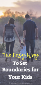 The easy way to set healthy boundaries for your kids with these parenting tips. Listening resources and parenting hacks to motivate listening and develop boundaries with kids. Includes listening activities for kids that keeps them entertained and well behaved. #parenting #moms #momlife #parentingtips #motherhood #familygoals