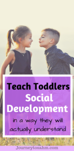 Are you having trouble with your toddler not listening? Here are ways to teach social development in toddlers in a way they will actuall understand. Helps improve listening skills for preschoolers and toddlers. #parenting #momlife #toddler #moms #education #preschool