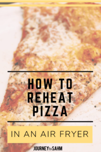 Learn the best way to reheat pizza inside an air fryer. Use your machine to its full potential by reheating foods and creating a nice crispy, delicate crust. Keep your pizza healthy with less oil added and make dinner within minutes. Perfect for family dinners, easy leftovers, and a quick late night snack. #airfryer #cooking #nutrition