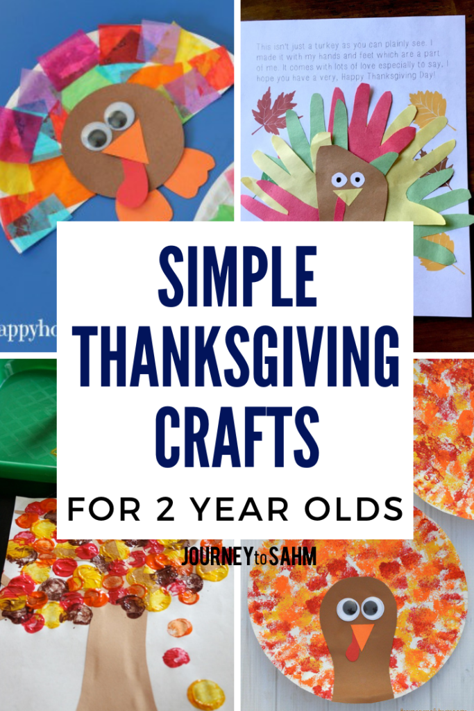 Simple Thanksgiving Crafts for 2 Year Olds
