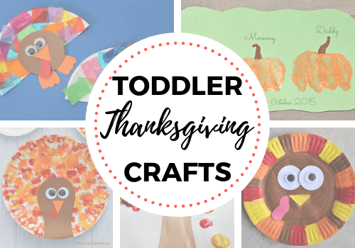Easy Thanksgiving crafts for toddlers. Perfect DIY ideas for preschool age and for kids who just love getting creative for the holidays. #kidsactivities #kidscraft