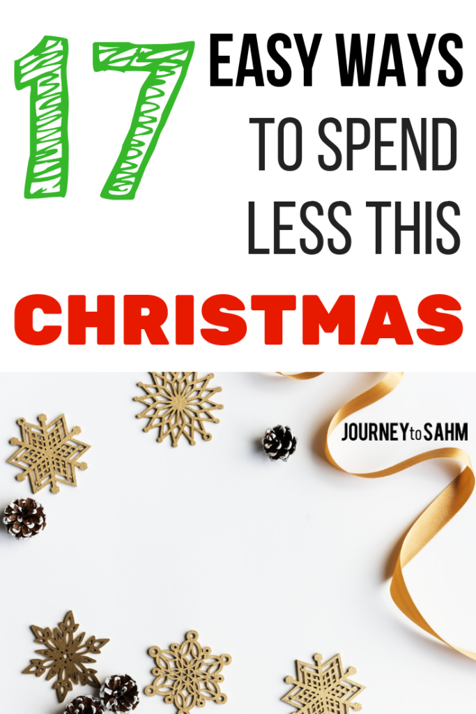 17 ways to keep on budget this Christmas. Ideas to find thrifty gifts and stocking stuffers without any DIY. Tips to save money shopping online and in stores this holiday season for the kids and family. #christmas #savings #frugalliving #frugal #money