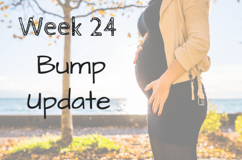 My week 24 pregnancy bump update! Check out my weekly bump update that includes a maternity photo and weekly progression pic! Check out my pregnancy symptoms and pregnancy cravings this week. #babybump #mommytobe #babyboy #pregnancy #parenting