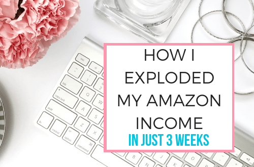 How I exploded my Amazon affiliate income in just 3 weeks with these blogging tips and tricks. Learn a great marketing strategy to increase your blogging income and make money this holiday season. Includes information on the program, tips to make money on your website, and ideas to update old blog posts. #bloggingtips #blog #blogger #bloggerlife #momblogger