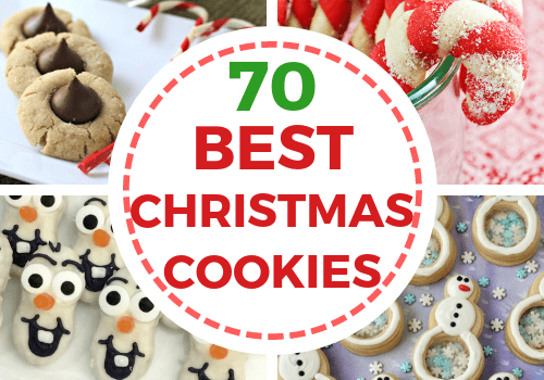 The best Christmas cookies recipes with pictures for cookie exchanges and family parties. Easy cookie recipes perfect for the kids this holiday. Includes traditional, decorated, delicious, italian, classic, and more! #christmas #cookierecipes #christmascookies #dessert #baking