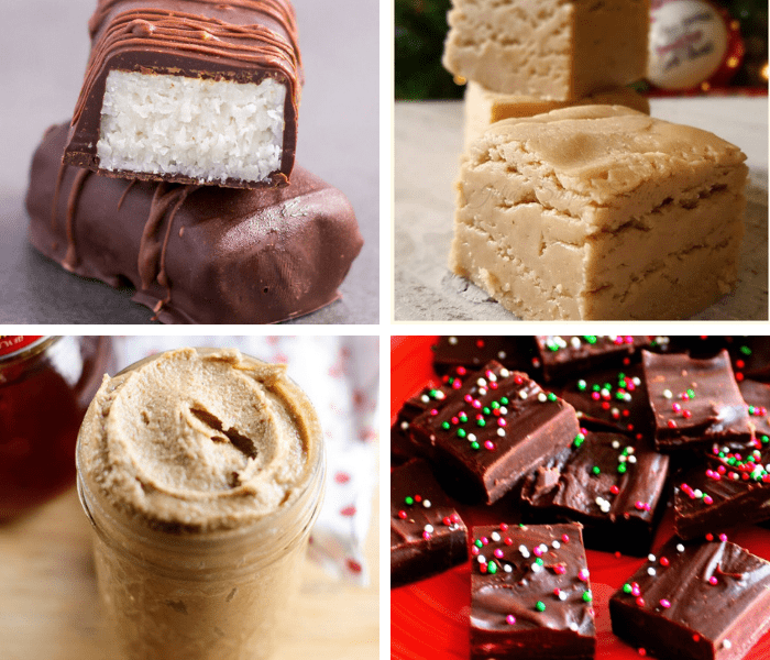 Easy Holiday desserts perfect for the whole family. Traditional Christmas treats ideas that are homemade. Complete the dessert trays at the holiday parties and exchanges by bringing a dessert that's not cookies for once. #Christmas #dessertfoodrecipes #Christmasrecipes #Holidayrecipes #baking