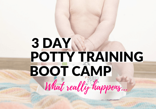 An awesome schedule to potty train girls and boys in just 3 days. Includes tips on regression to get kids back on the toilet. Works for an 18 month old and up. Includes free printable potty chart and completion certificate! #potty #toddlerlife #parentinghacks #mommylife #pottytraining