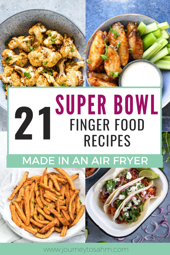Air Fryer Super Bowl recipes