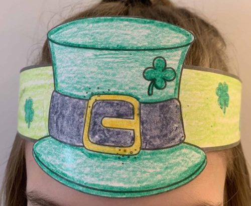 St. Patrick's Day Leprechaun Hat Craft