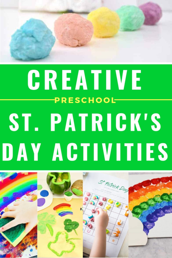 Easy St. Patrick's Day activities and crafts for toddlers ages 3 years old and up. Get the kids together to make these fun DIY crafts and activities with free printables. Includes STEM, STEAM, sensory, and science experiments for preschoolers! #saintpatricksday #activitiesforkids #stpatricksday #craftsforkids #kidsactivities