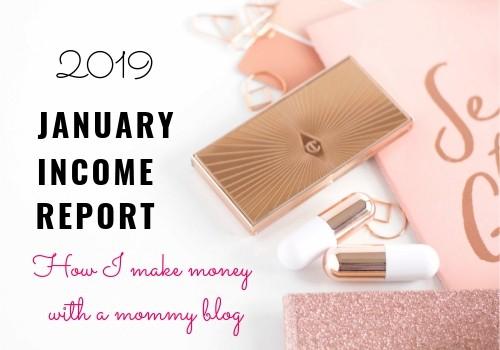 January Blog Income Report – 2019