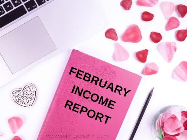 February blog income report from a mom blogger. Find out tips and tricks to start a blog as a minimalist, how to make money from a mom blog at home, and ideas to keep your blog growing. #momblog #momblogger #incomereport #bloggerlife