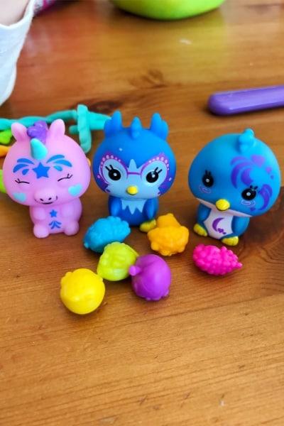 Cute Bananas Crushie Toys Closeup