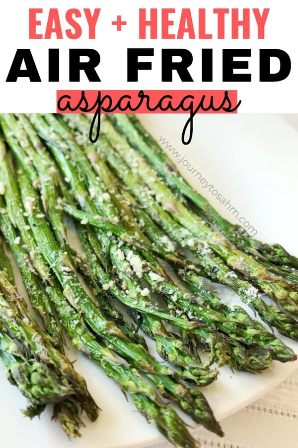 Air fryer asparagus vegetable dish