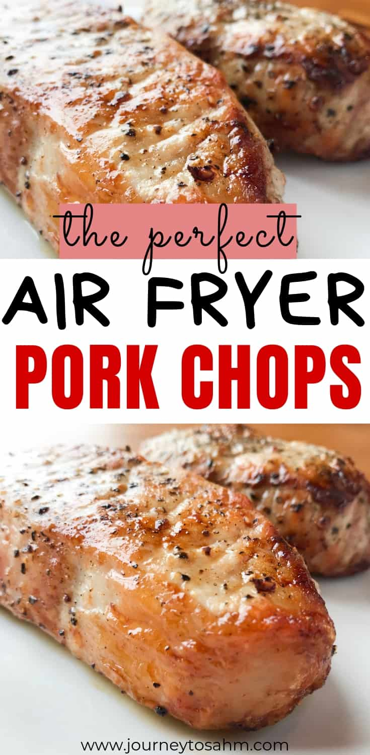 Perfectly moist air fried pork chops