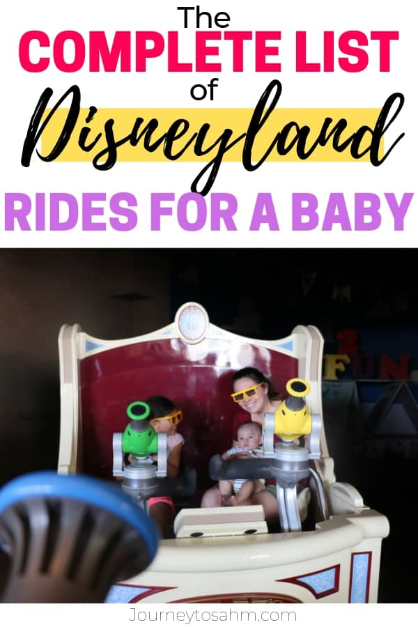 Rides for a Baby at Disneyland
