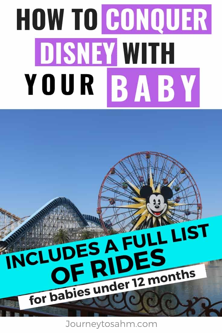 How to conquer Disney with an infant baby