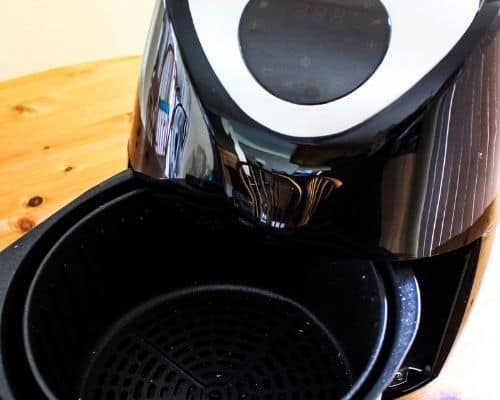 Close Up of Magic Chef Air Fryer