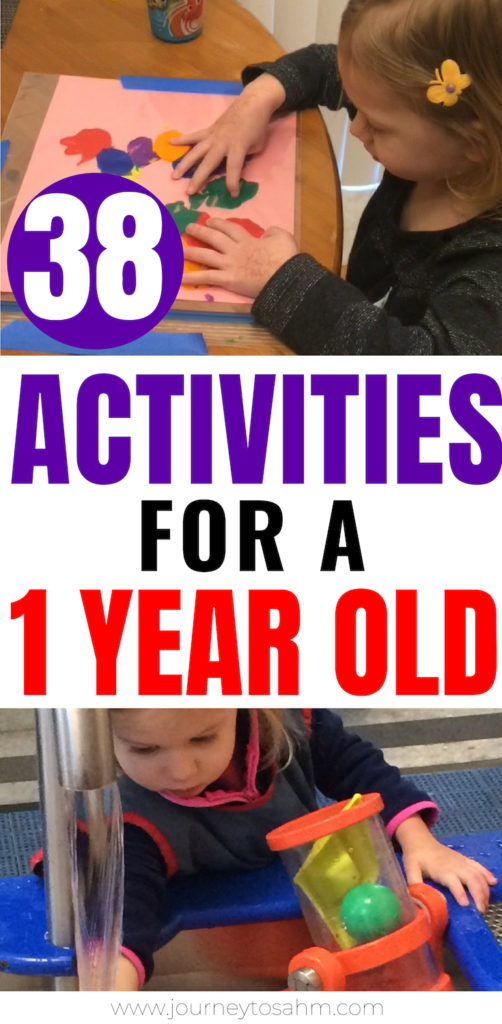 38 Activities for a One Year Old All Year Round