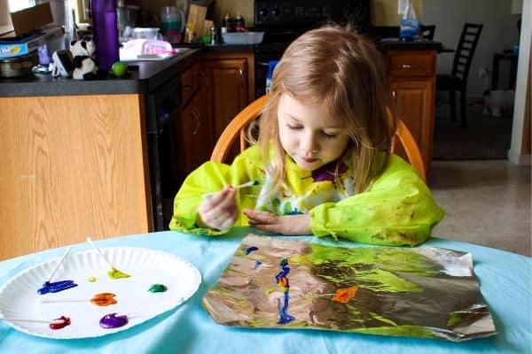 Creative Sensory Art Craft for Kids