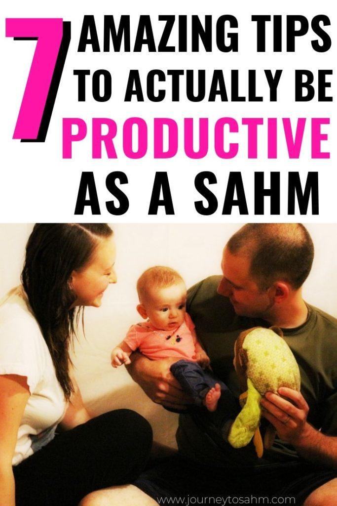 Be Productive as a SAHM