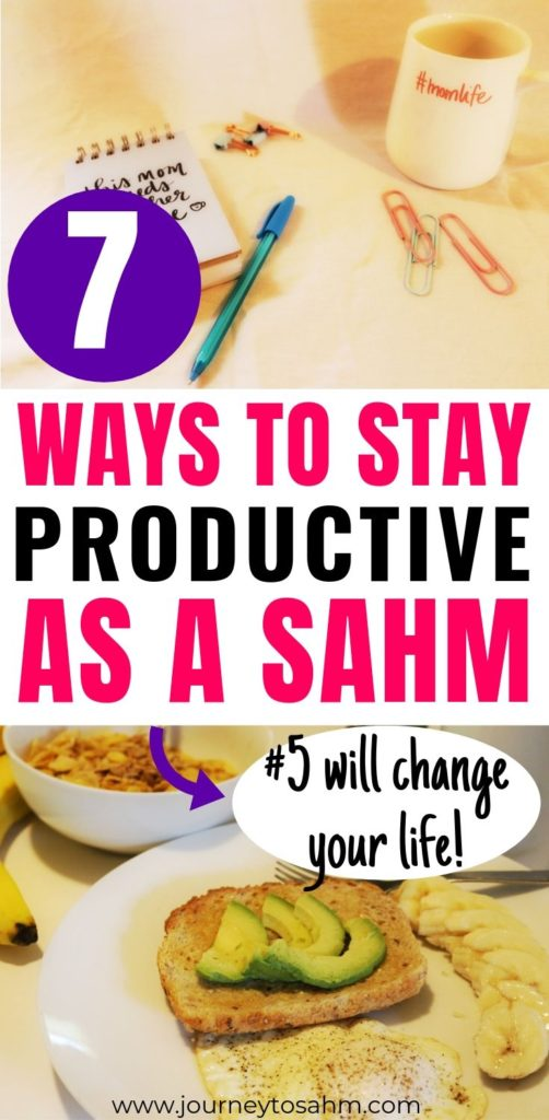 Ways to be Productive as a mom