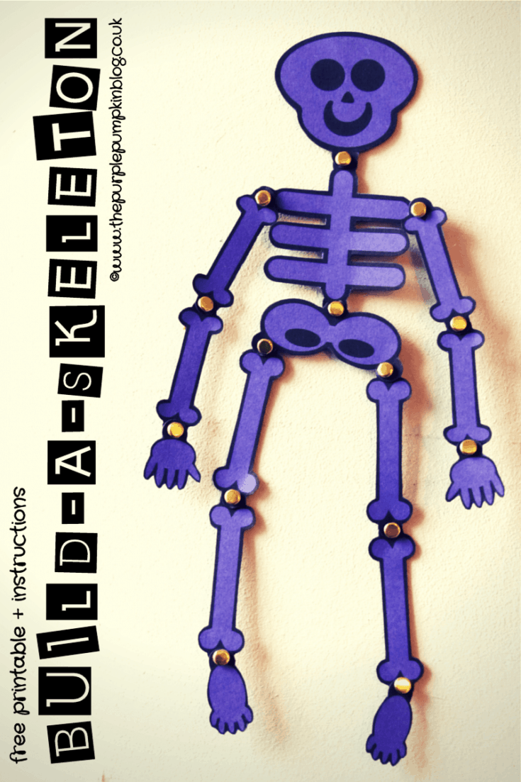 Build-A-Skeleton | Free Printable + Instructions