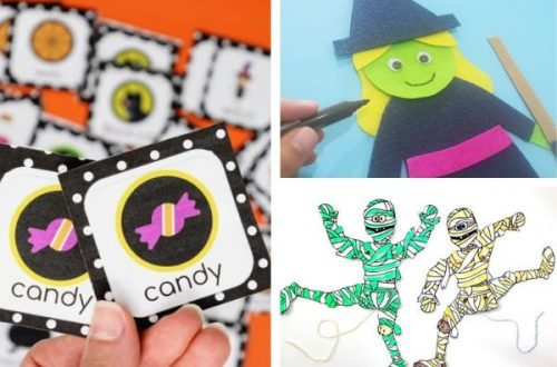 Halloween printables for preschoolers