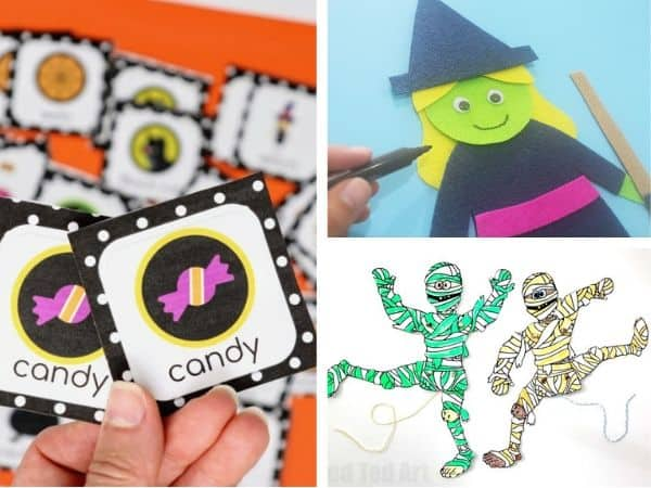 15 Free Halloween Preschool Printables