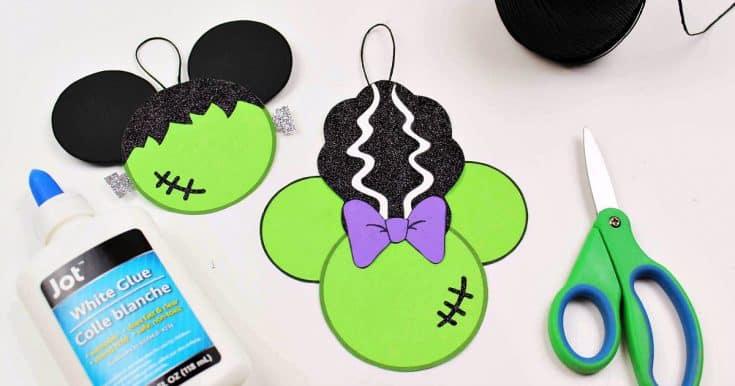Free Printable Disney Halloween Frankenstein Craft